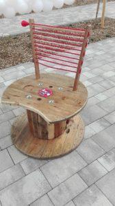 12. FC-Fan-Sessel, (denn grüne Kabel gibt' noch nicht)