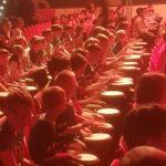 1000 Kinder trommeln in Grefrather Eissporthalle