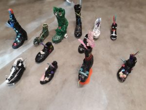 """Besuch in der ODA PARK-Ausstellung """" Art Shoes"""""""