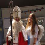Nikolaus verkleidet sich sonst als Hausmeister