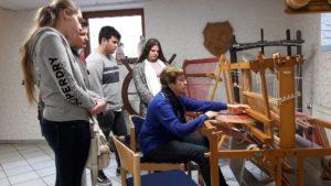 Workshop im Flachsmuseum - ein Schülerbericht