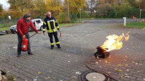 Ausbildung zu Brandschutzhelferinnen und -helfern