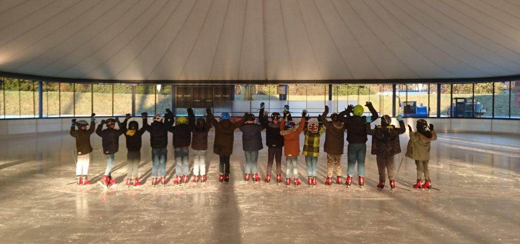 Eislaufen als Schulsport