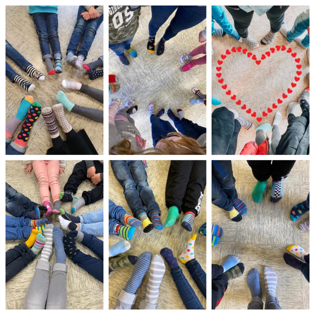 Hinsbecker Kinder feiern den Welt-Down-Syndrom-Tag