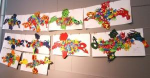 Drachen im Museum